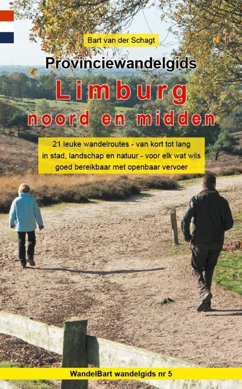 Afbeelding van Provinciewandelgids Limburg noord en midden