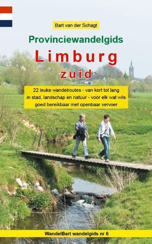 Afbeelding van Provinciewandelgids Limburg Zuid