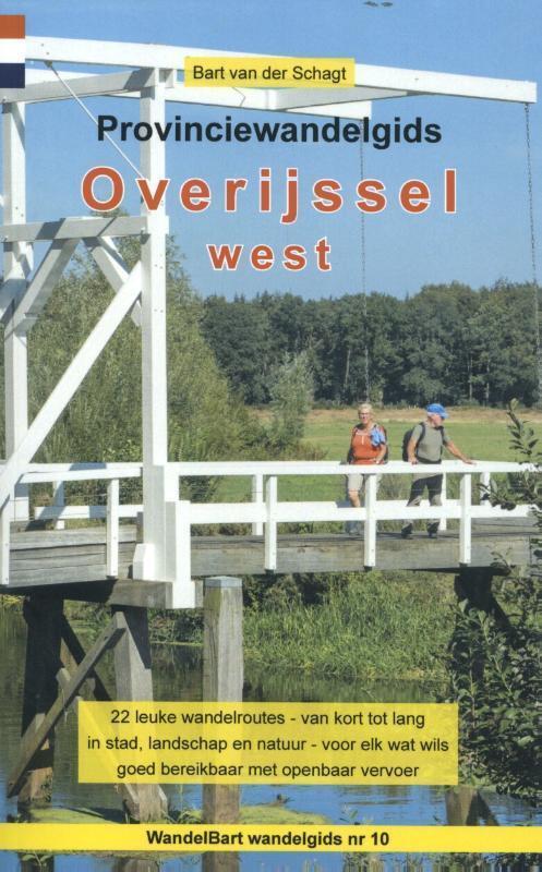 Afbeelding van Provinciewandelgids Overijssel West