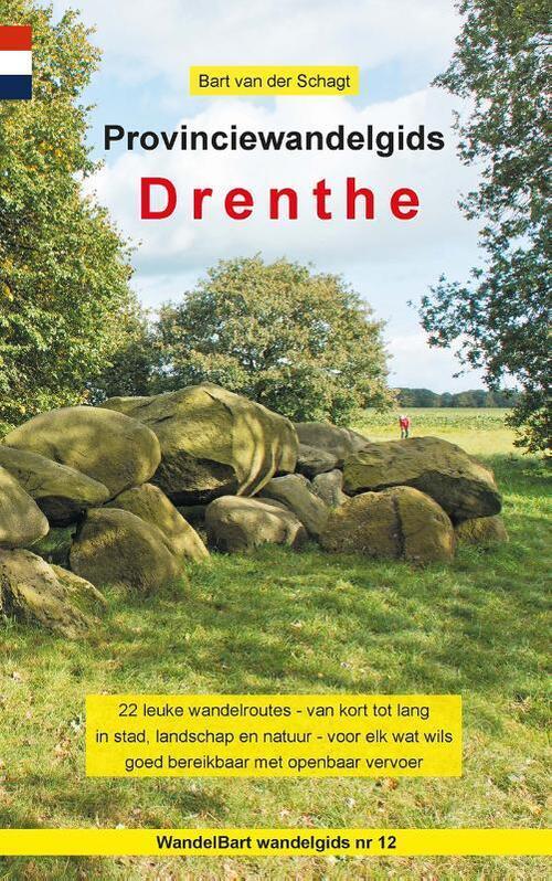 Afbeelding van Provinciewandelgids Drenthe