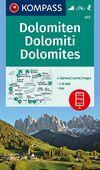 Dolomiten - Dolomites - Dolomiti 1 : 35 000-