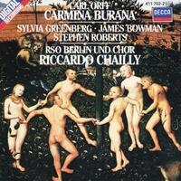Carmina Burana-James Bowman, Rober, Sylvia Greenberg-CD