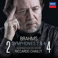 Symphonies Nos. 2 & 4-Riccardo Chailly-CD