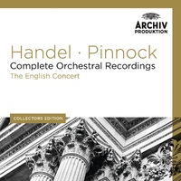 Handel - Complete Orchestral Recordings (11 CD)-The English Concert, Trevor Pinnock-CD