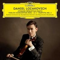 Bach: Violin Concertos Nos 1 & 2; P-Daniel Lozakovich-CD