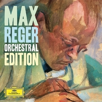 Max Reger - Orchestral Edition--CD
