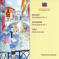 String Quartet..-Brahms, Schumann, Wolf-CD