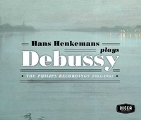 Plays Debussy: The Philips Recordin-Hans Henkemans-CD