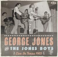 Live In Texas 1965-George Jones-CD