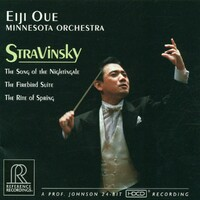 Stravinsky: Firebird, Nightingale-Minnesota Orchestra & Eiji Oue-CD