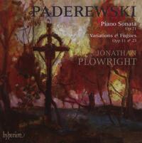 Sonata & Variations-Jonathan Plowright-CD