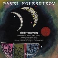 Moonlight Sonata & Other Piano Work-Pavel Kolesnikov-CD