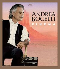 Andrea Bocelli - Cinema-Blu-Ray