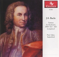 Partitas For Keyboard, BWV 825-830 (Complete)-Peter Sykes-CD