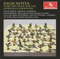 High Notes: More New Music For Sopranino Saxophone-Bookout, Crossland, Lydy, Reeves, Vernon-CD