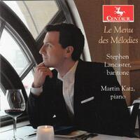 Des Melodies-Martin Katz, Stephen Lancaster-CD