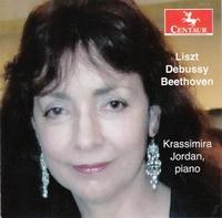 Liszt Debussy Beethoven-Krassimira Jordan-CD
