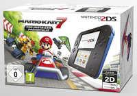 Nintendo 2DS Handheld Console + Mario Kart 7 (Bundel)-Console