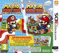 Mario & Donkey Kong - Mini's On The Move / Mini's March Again-Nintendo 3DS