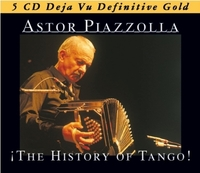 5-CD The History Of Tango-Astor Piazzolla-CD