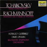 Piano Concerto 1/Rhapsody-Rachmaninov, Tchaikovsky-CD