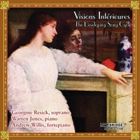 Visions Intérieures - The Developing Song Cycle-Jones, Resick, Willis-CD