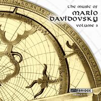 The Music Of Mario Davidovsky Vol.3-Aleck Karis, Curtis Macomber, Eric Bartlett-CD