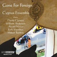 Gone For Foreign-Cygnus Ensemble-CD