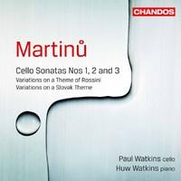 Martinu / Cello Sonatas-Huw Watkins, Paul Watkins-CD