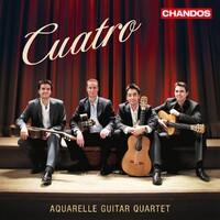 Cuatro-Aquarelle Guitar Quartet-CD