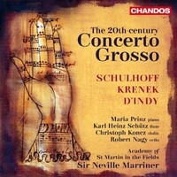 The 20th-Century Concerto Grosso-Academy Of St Martin In The Fields-CD