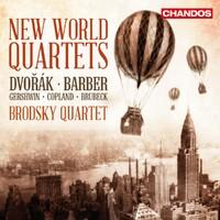 New World Quartets-Brodsky Quartet-CD