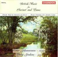 British Music For Clarinet-Einar Johannesson-CD