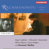 Songs II-Naoumenko Shelley Rodgers-CD