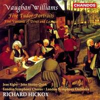 Five Tudor Portraits-Rigby Shirley-Quirk-CD