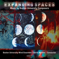 Expanding Spaces: Music..-Boston University Wind En-CD