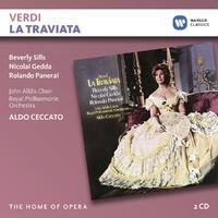 La Traviata-Ceccato, Gedda, Sills-CD