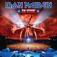 En Vivo!-Iron Maiden-LP