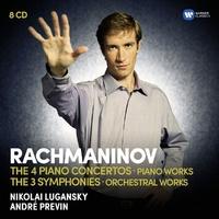 The Piano Concertos-Lugansky, Previn-CD