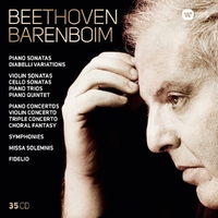 Beethoven Barenboim-Daniel Barenboim-CD
