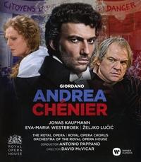 Antonio Pappano - Andrea Chenier-Blu-Ray
