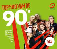 Qmusic Top 500 Van De 90's - 2018--CD