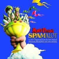 Spamalot-Azaria, Curry, Pierce-CD