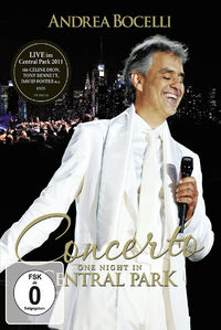 One Night In Central Park-DVD