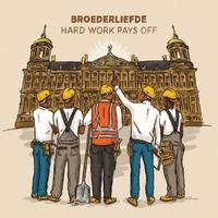 Hard Work Pays Off-Broederliefde-CD