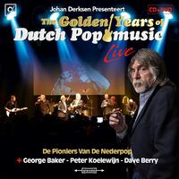 The Golden Years Of Dutch Pop Music - Live (CD+DVD)-Johan Derksen-CD+DVD