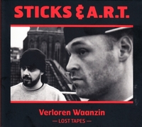 Verloren Waanzin-Sticks En Art-CD