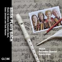 Brisk Plays Bach-Brisk Recorder Quartet Amsterdam-CD
