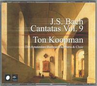 Complete Bach Cantatas Vol. 9-The Amsterdam Baroque Orchestra, Ton Koopman-CD