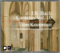 Complete Bach Cantatas Vol. 10-The Amsterdam Baroque Orchestra, Ton Koopman-CD